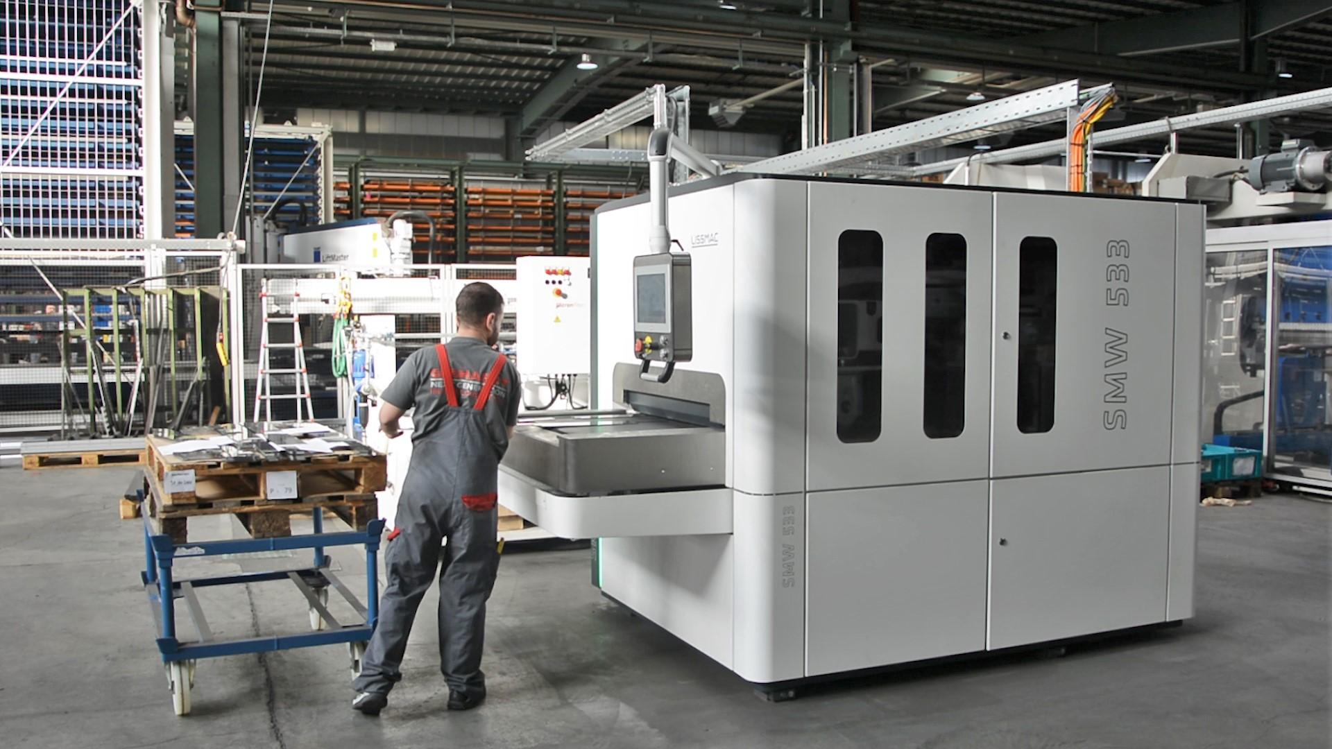 德国利玛SMD 3系列金属表面处理设备